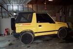 Highlight for Album: 91 Geo Tracker AKA RUCKUS MACHINE
